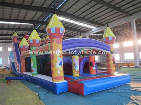 bounce house games mickey mouse bounce house inflatable obstacle game manufacturer supplier