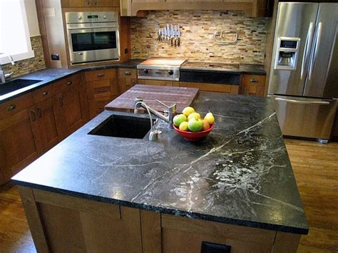 soapstone counters and kitchen tops traditional