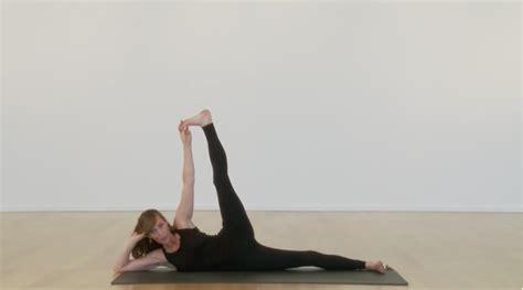side reclining leg lift side reclining leg lift with stephanie snyder yogaglo blog