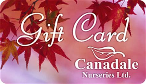 Garden Centre Gift Card - gift card canadale nurseries ltd canadale garden centre st thomas nursery london