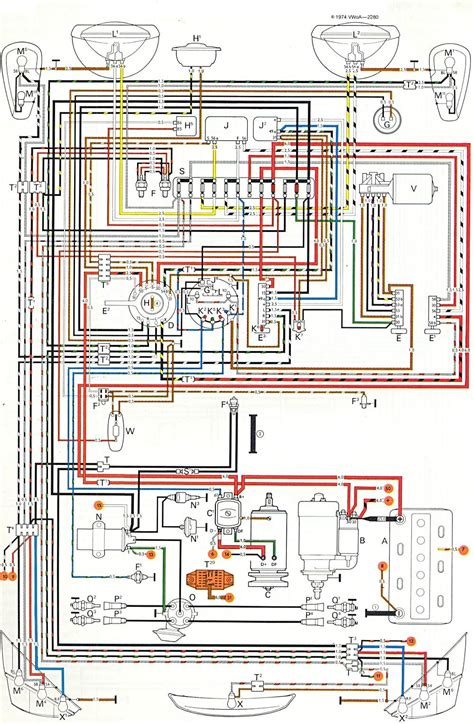 74 beetle engine diagram 74 get free image about