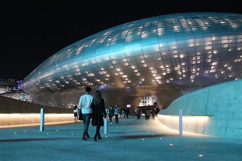 Kalung Korea Shape Simple Design T6abd file dongdaemun design plaza jpg wikimedia commons