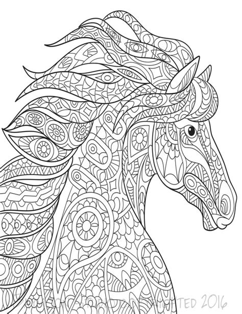 wild horses coloring pages to print wild horse coloring page printable coloring pages adult