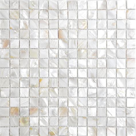 shell tiles 100 seashell mosaic of pearl
