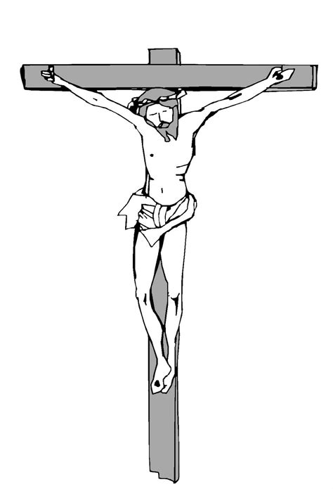 5 Jesus Christ Crucifixion Printable Coloring Pages For Jesus On The Cross Coloring Page