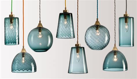 Flodeau Com Handblown Glass Lighting By Rothschild Glass Pendants Lighting
