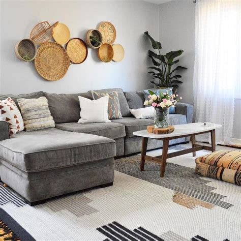 Living Room With Grey Sectional Sofa 25 Best Ideas About Grey Sectional Sofa On