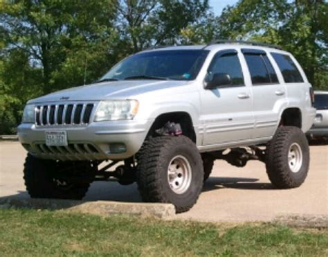 2002 Jeep Grand Lift Kit 2002 Jeep Grand 8in Lift And 35s Things I