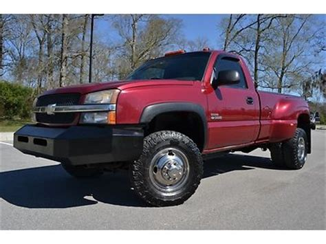 electric and cars manual 2004 chevrolet silverado 3500 on board diagnostic system buy used 2004 chevrolet silverado 3500 regular cab ls diesel 4x4 rare 6 speed in baton rouge