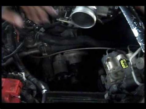 1995 2001 nissan maxima: starter replacement youtube