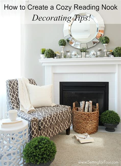 how to design a reading nook for your home 24 fresh and fabulous spring mantel decor ideas setting