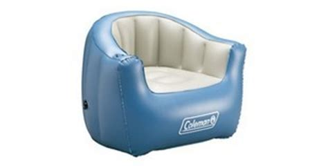 coleman inflatable couch coleman inflatable furniture