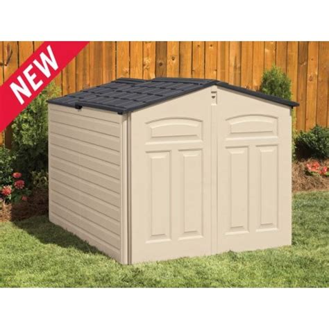 rubbermaid slide lid storage shed reviews saw log