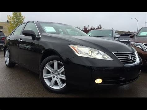 black lexus 2008 pre owned black 2008 lexus es 350 premium with navigation