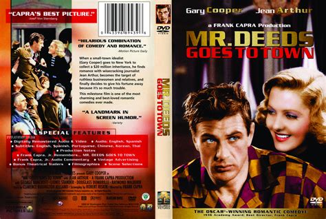 Watch Mr Deeds Goes Town 1936 Full Movie Mr Deeds Goes To Town 1936 Ur R1 Movie Dvd Front