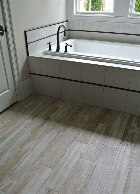 Pebble Tile Bathroom Flooring Ideas Managing The Bathroom Flooring Ideas Photos