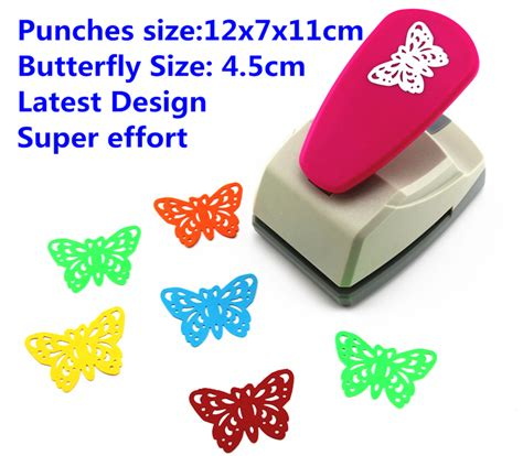 Paper Craft Punches India - butterfly punch design ᗑ save save effort