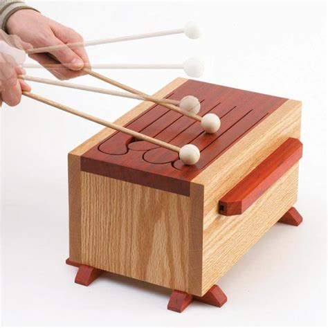 Tone Of Fun Tongue Drum Woodworking Plan From Wood Magazine