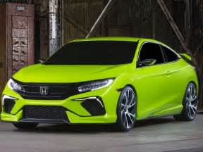 honda unveils stunning lime green civic