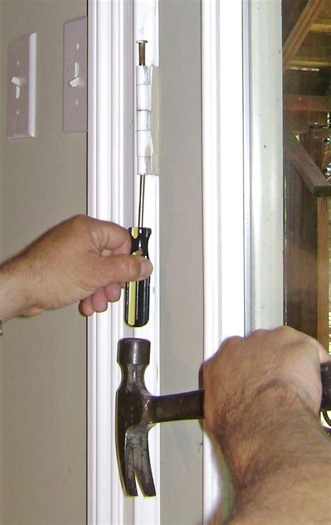 Exterior Door Hinge Pin Removal 100 How To Fix A Door Hinge How To Install Acting Sp 100 Adjusting Patio Door Hinges