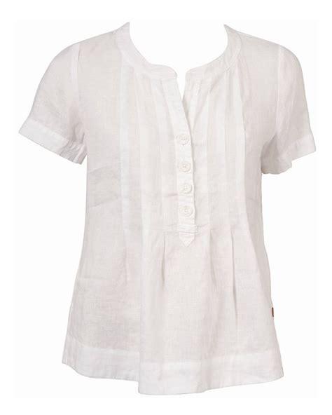 J 43519 Blouse Nancy 1 jackpot perlina neck linen blouse