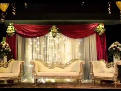 diy wedding stage decorating ideas youtube
