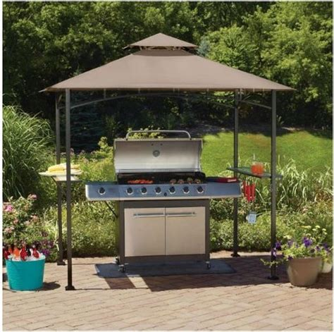 backyard grill build your own backyard grill gazebo