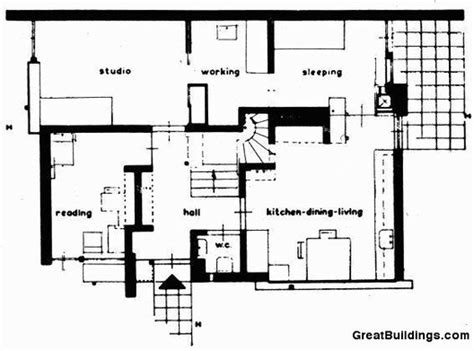 Schroder House Plan Ad Classics Rietveld Schroder House Gerrit Rietveld Archdaily
