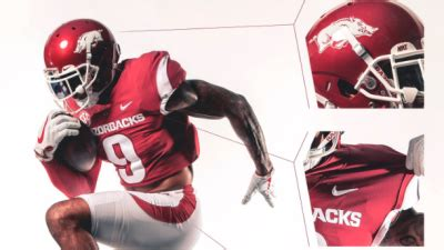 razorback football reveals new uniforms | fort smith