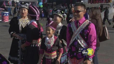 fresno hmong new year celebration attracts thousands