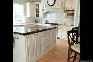 how to paint kitchen cabinets huffpost