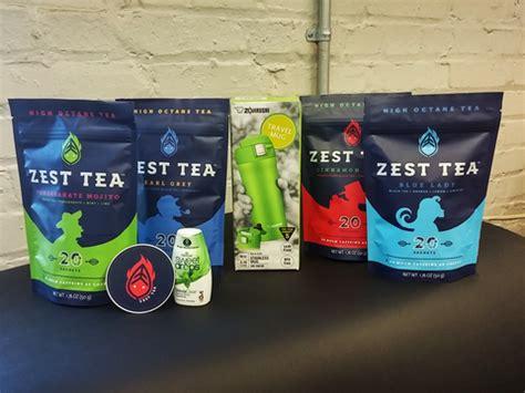 Zest Sweepstakes - high caffeine tea zest tea energy blends