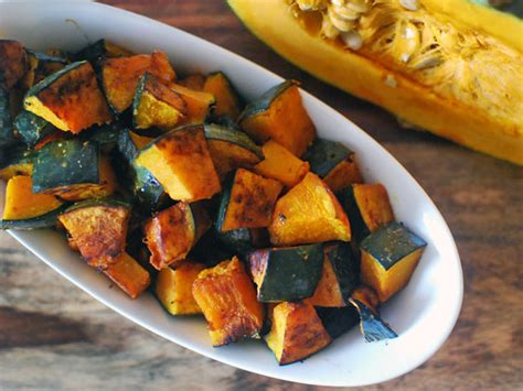 roasted kabocha squash  soy sauce butter