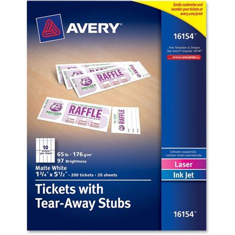 avery templates raffle tickets avery printable raffle tickets search results new
