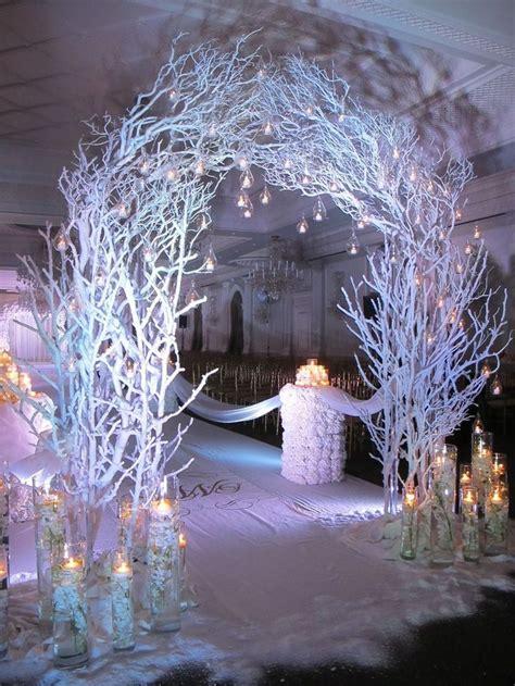 awesome  awesome winter wonderland wedding decoration