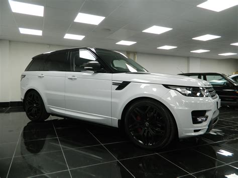 land rover autobiography white 100 land rover white black rims hottest la debuts