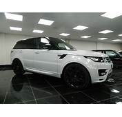 100  Land Rover White Black Rims Used