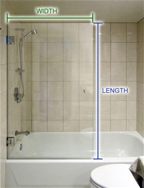 bathtub half glass panel frameless tub screens custom bathtub glass screens