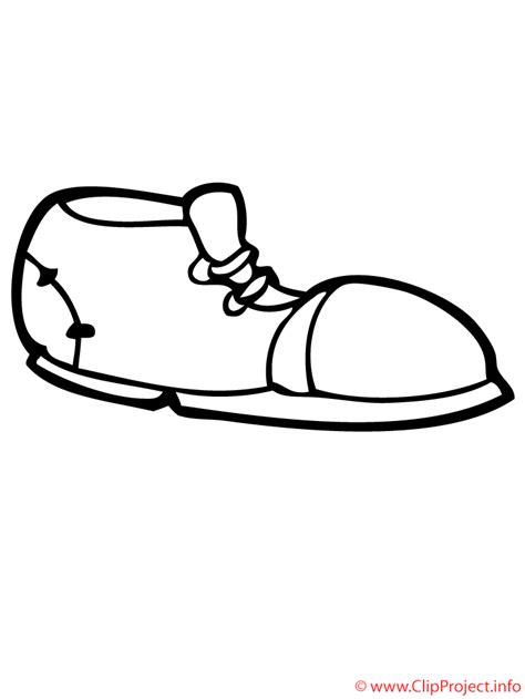 imagenes en blanco y negro de zapatos zapato dibujo para colorear gratis