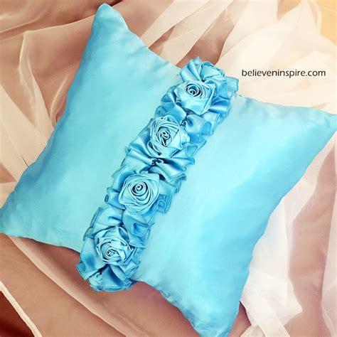 diy silk pillowcase luxurious designer knock pillow tutorial silk pillowcases