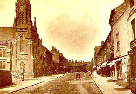 nuneaton abbey street our warwickshire old photos of nuneaton roads our warwickshire