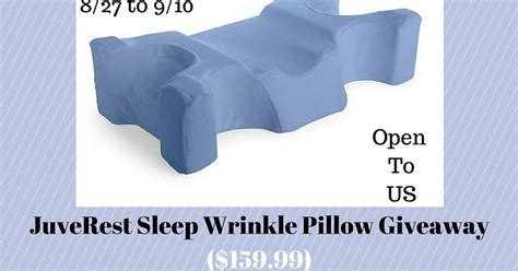 Juverest Pillow by Juverest Sleep Wrinkle Pillow Giveaway And Aron S