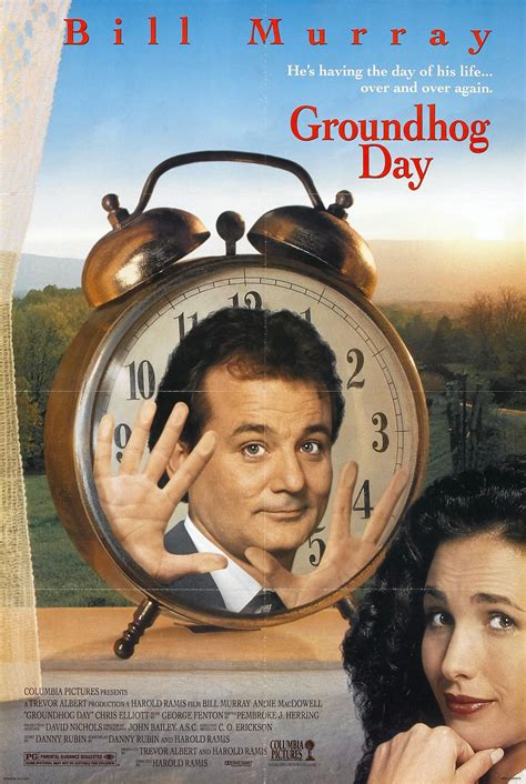groundhog day one day groundhog day 1 of 2 large poster image