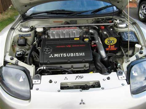 mitsubishi fto engine image