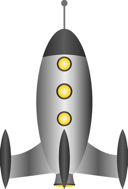 Spaceship Rocket free vector graphic rocket spaceship space travel