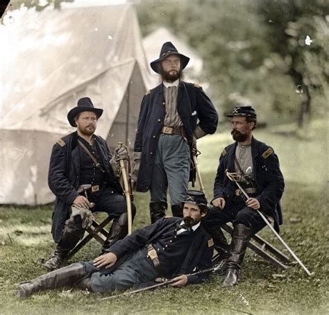war in color remarkable colorized photos from the american civil war