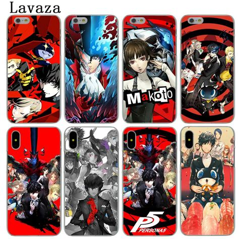 lavaza persona 5 p5 phone for apple iphone x xs max xr 6 6s 7 8 plus 5 5s se 5c 4s 10