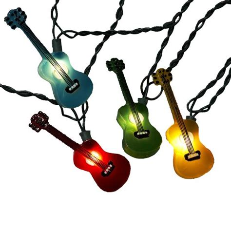 Guitar Gifts Shirts Mugs Totes Music Accessories Guitar String Lights