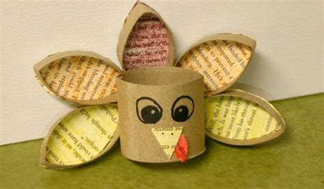 Recycled Toilet Paper Roll Crafts - toilet paper roll turkey crafting a green world
