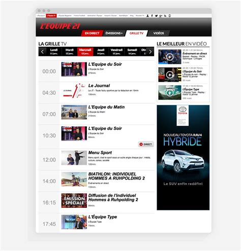 ecommerce nfr wordpress websites site web media l equipe 21